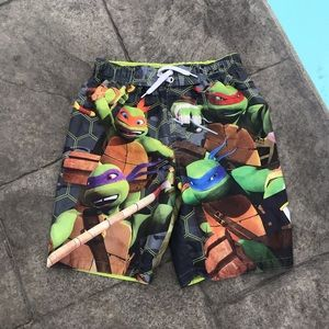 Turtle Swim Trunks